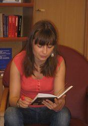 """Катерина Бабкіна у книгарні """"Смолоскипа"""""""