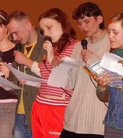 Фото з мистецької частини Ірпінських семінарів