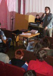 Фото з Ірпінських семінарів творчої молоді